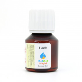 E-Liquide PG 50% VG 50% (50 ml)