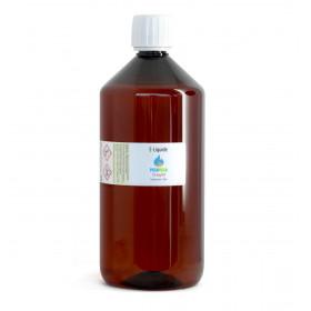 E-Liquide PG 50% VG 50% (1 litre)