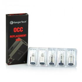 5 * Résistances OCC pour Subtank (KangerTech)