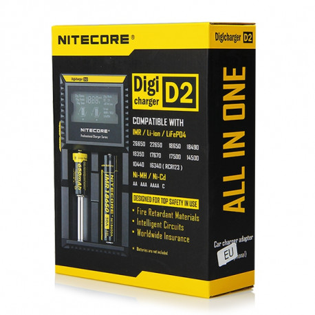 Chargeur Digicharger D2 (NiteCore)