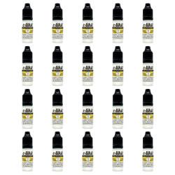 20 x E-Liquides nicotinés PG 50% VG 50%