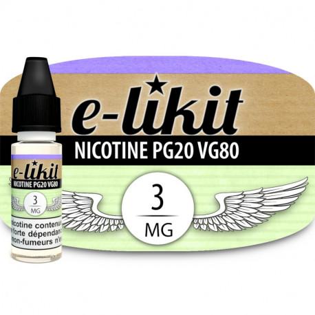Nicotine 3 mg - PG20VG80
