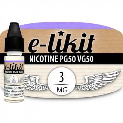 Nicotine 3 mg - PG50VG50