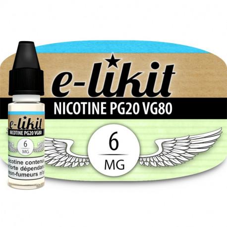 Nicotine 6 mg - PG20VG80