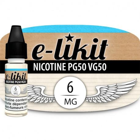 Nicotine 6 mg - PG50VG50