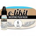 Nicotine 6 mg - PG50 VG50