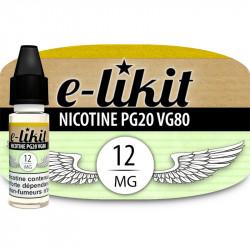 Nicotine 12 mg - PG20VG80