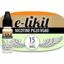 Nicotine 15 mg - PG20VG80