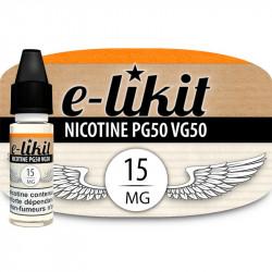 Nicotine 15 mg - PG50VG50