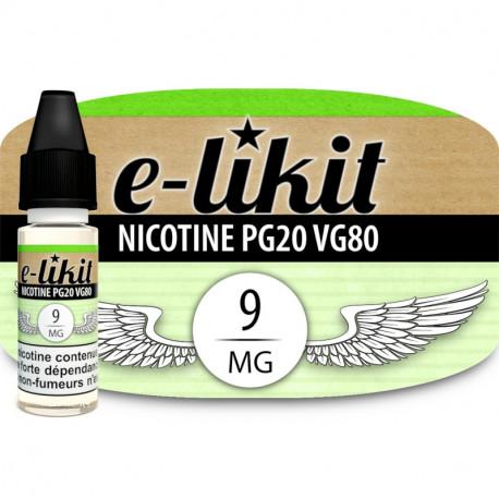Nicotine 9 mg - PG20VG80
