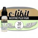 Nicotine 20 mg - PG20 VG80