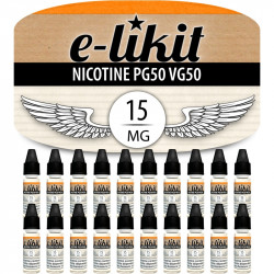 20 x Nicotine 15 mg - PG50VG50