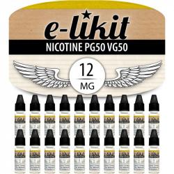 20 x Nicotine 12 mg - PG50VG50