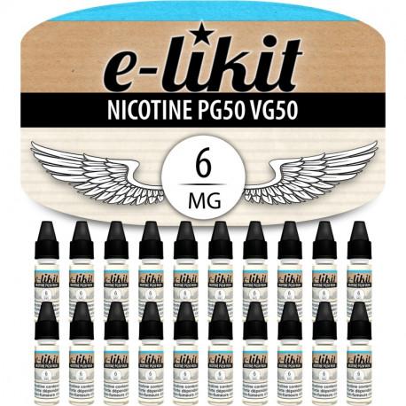20 x Nicotine 6 mg - PG50VG50