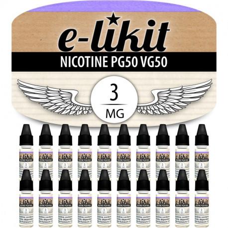 20 x Nicotine 3 mg - PG50VG50