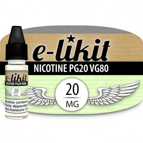 Nicotine au choix - PG20 VG80