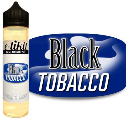 Black Tobacco - E-liquide 60 ml