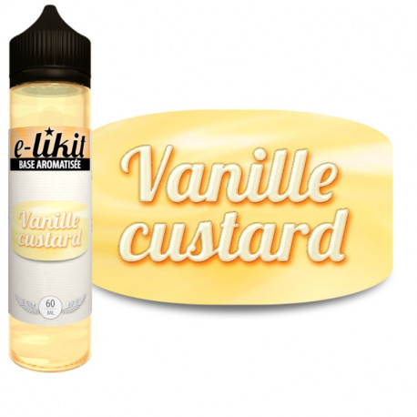 Vanille custard - E-liquide 60 ml