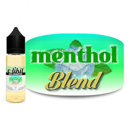Menthol Blend - E-liquide 15 ml