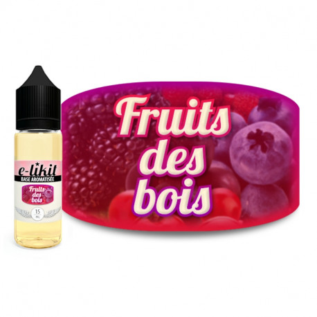 Fruits des bois - E-liquide 15 ml