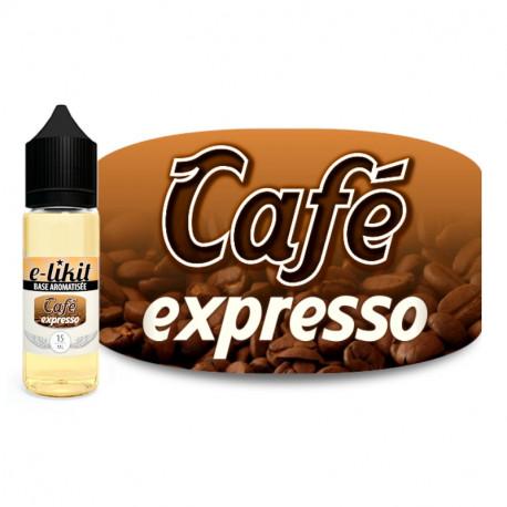 Café expresso - E-liquide 15 ml