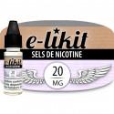 Sels de nicotine 20 mg - Base PG50 VG50