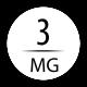 3 mg avec 1 booster 18 mg (50/60 ml)