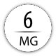 6 mg avec 2 boosters 18 mg (40/60 ml)