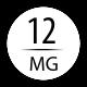 12 mg avec 4 boosters 18 mg (20/60 ml)