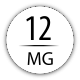 12 mg avec 1 booster 18 mg