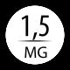 1,5 mg avec 1 booster 9 mg (50/60 ml)